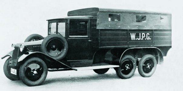 1929 Tatra-26-30, 6x6