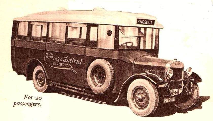 1929 Thorneycroft 20 seater