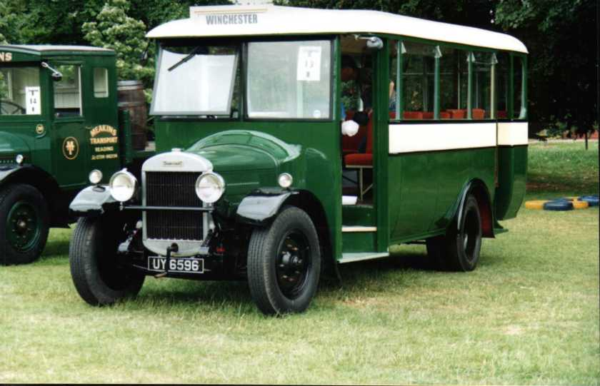 1929 Thornycroft Bus UY6596