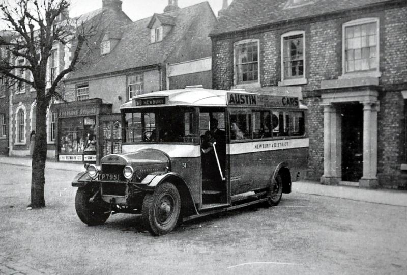 1929 Thornycroft In The Village - Pre-War