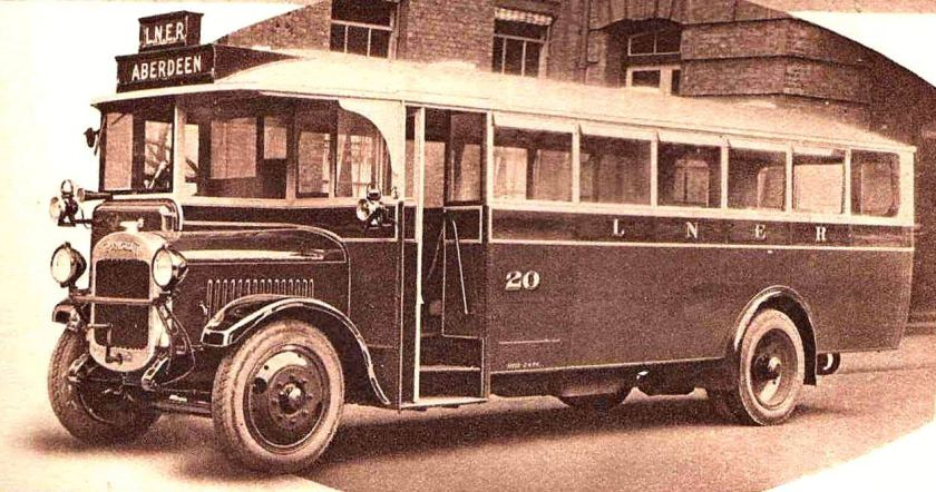 1929 Thornycroft LNER Single Deck Bus