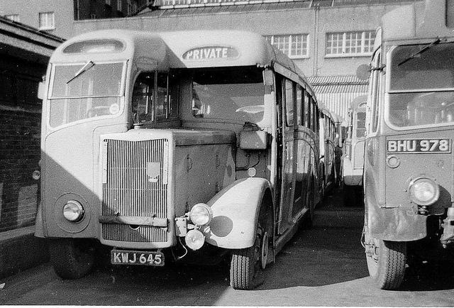 1929 Tilling Stevens Coach KWJ 645