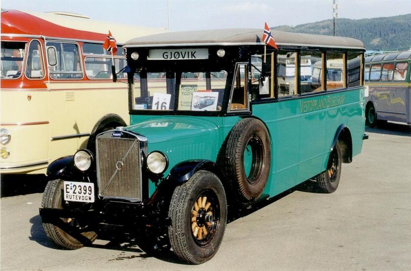 1929 Volvo LV4 -Arvika 1929