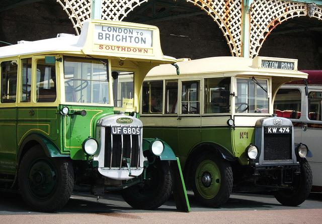 1930 Southdown Tilling Stevens & Lincoln Leyland Lion Brighton