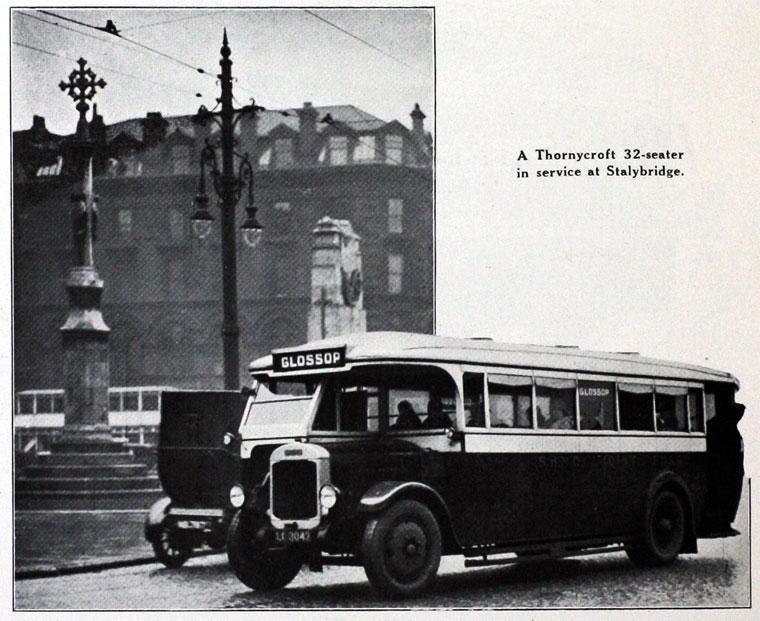 1930 Thornycroft a