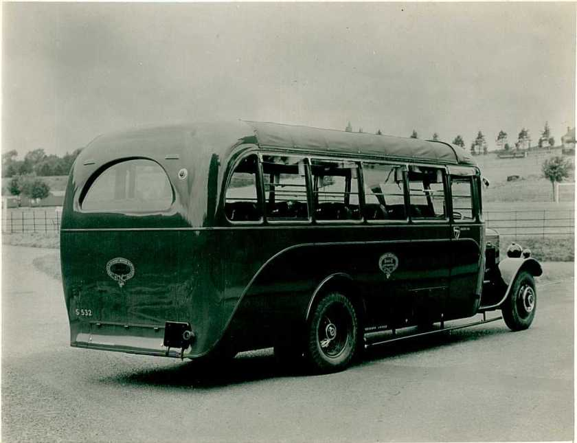 1930 Thornycroft Bus b