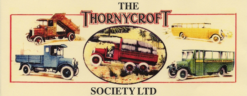 1930 THORNYCROFT SOCIETY LTD