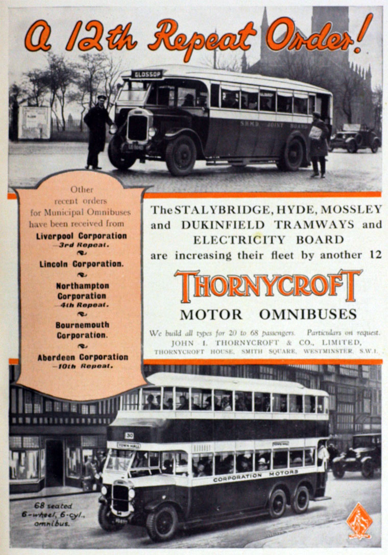 1930 Thornycroft