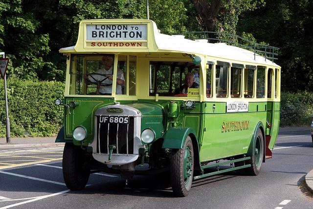 1930 Tilling-Stevens B.10 Express Bus (UF 6805)