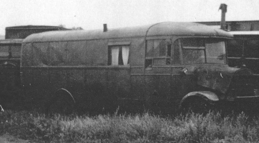 1930 Trent CH5432, SOS ODD ex S rebodied Brush B26F