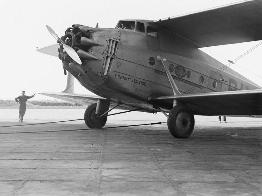 1931 Jumbo-vrachtvliegtuig uit 1931.
