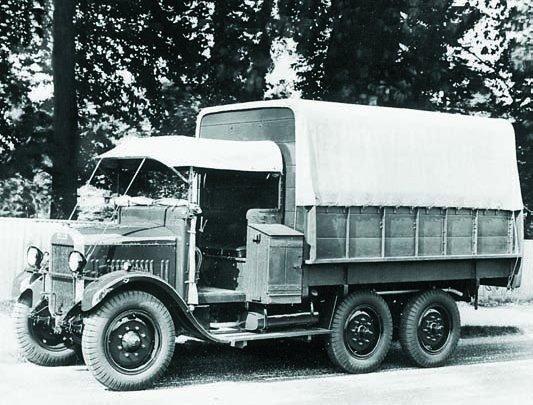 1931 Thornycroft А9, 6x6