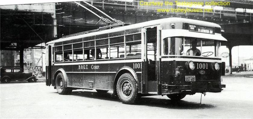 1931 TWIN COACH BQ TRANSIT