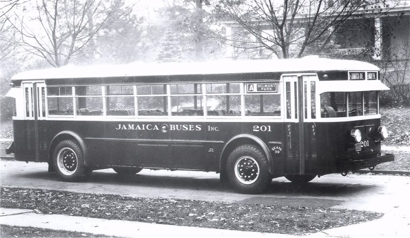 1931 Twin Coach Model '40' JAMAICABUSTWINCOACH 1931