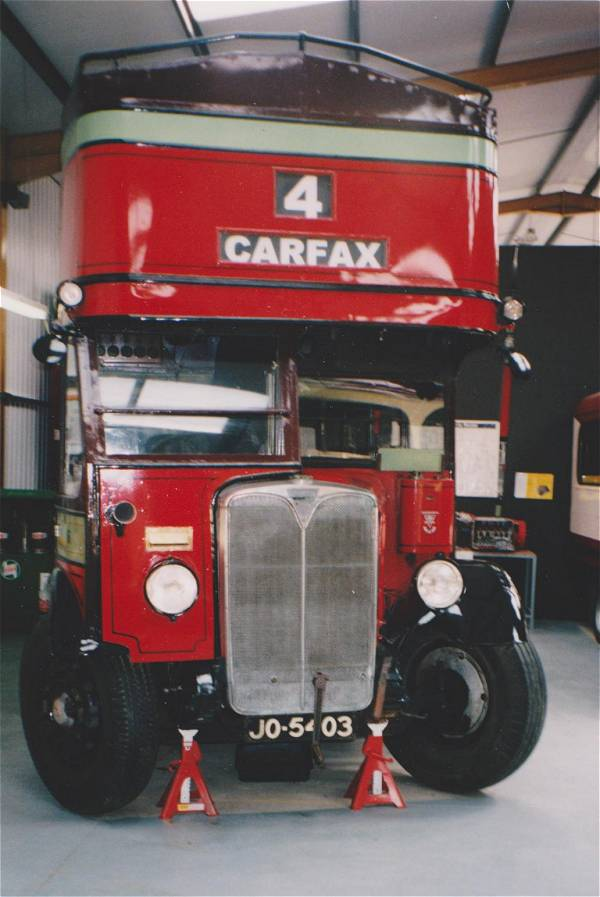 1932 Brush bodied Oxford AEC Regent JO5403