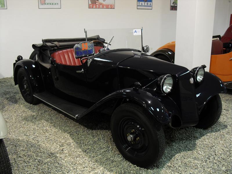1932 Tatra T57 sport cabriolet
