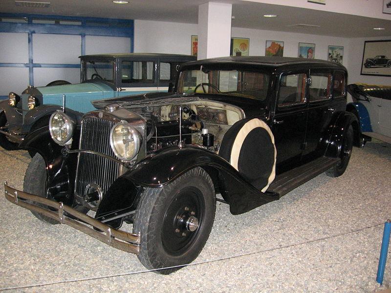 1932 Tatra T70 6-zit luxe limousine