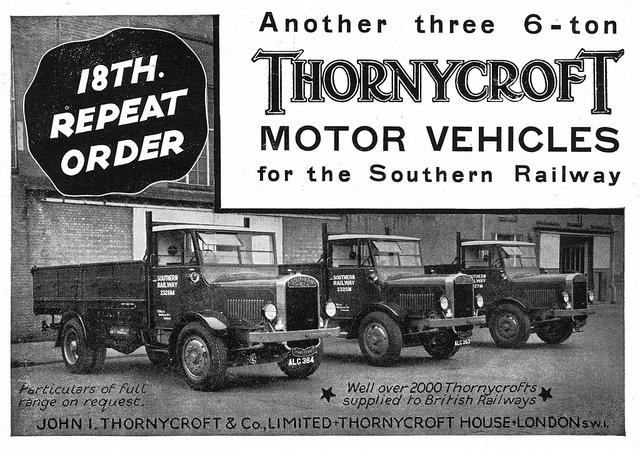 1932 Thornycroft Ad