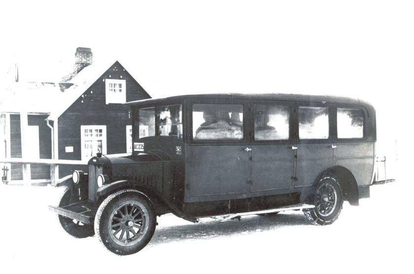 1932 VOLVO BUS NON IDENTIFIE