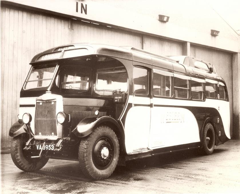 1932 Western SMT - Leyland TS1 coach VA 8935
