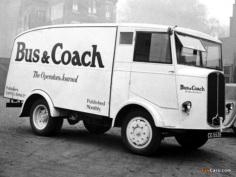1933-39 Thornycroft Trusty Van