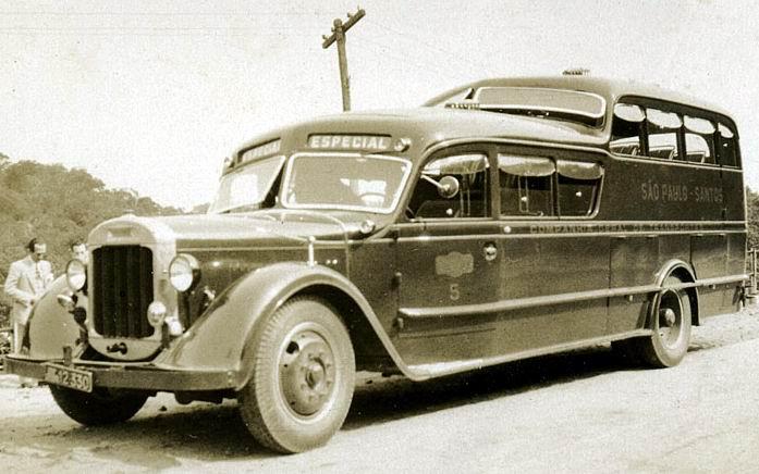 1933 Thornycroft (Grassi) King Kong bus Brasil