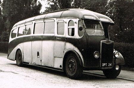 1934-38 Tilling Stevens Express Plaxton C32F DPT-24