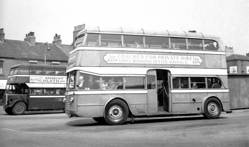 1934 AEC Q with Weymann H28-28C body a