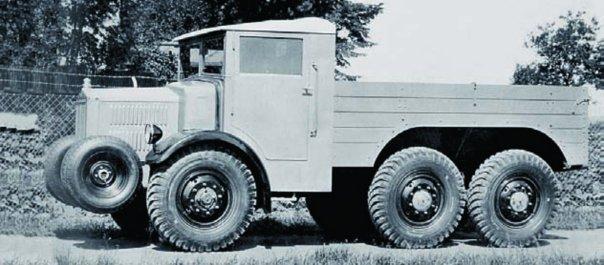 1934 Tatra-22, 6x6