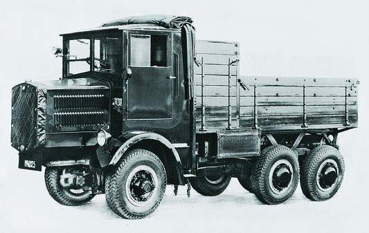 1934 Tatra-25, 6x6