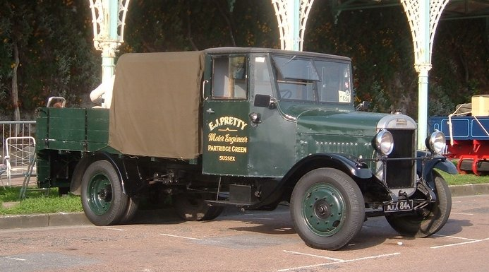 1934 Thornycroft dropside lorry