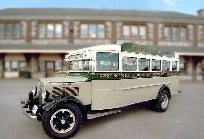 1934 White 702 bus