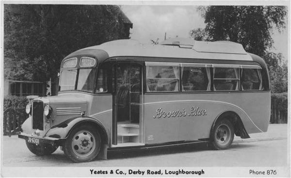 1935 Bedford JU6301 with Willowbrook C25F body