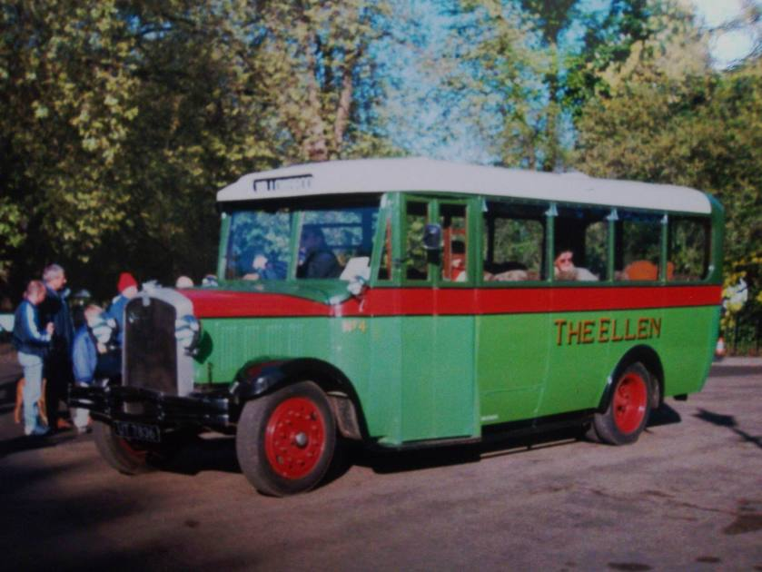 1935 Gilford UT7836 A56 coach - The Ellen - Willowbrook body