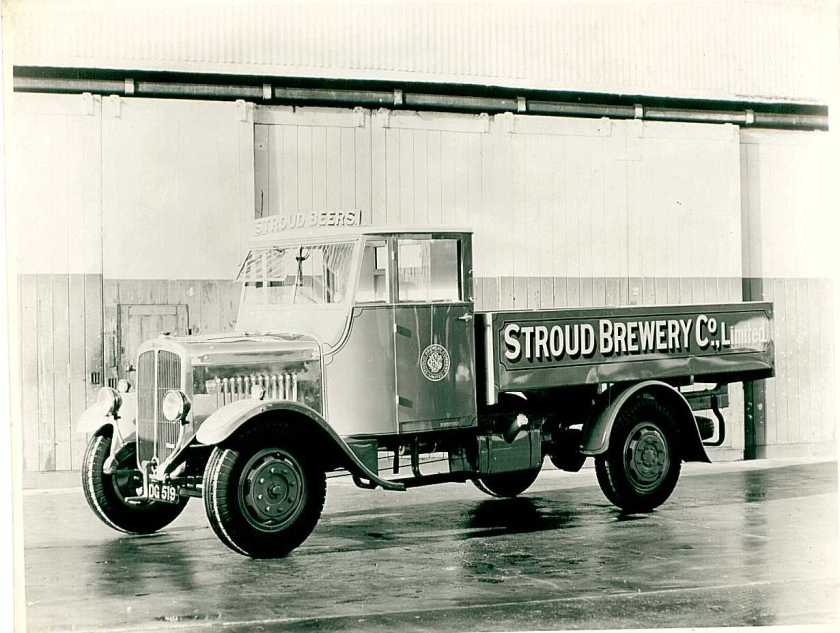 1935 Thornycroft Brewery vehicle