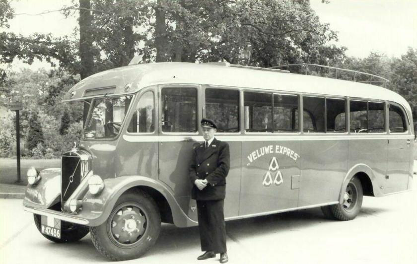 1935 Volvo van de Veluwe-Expres van de gebroeders Robart