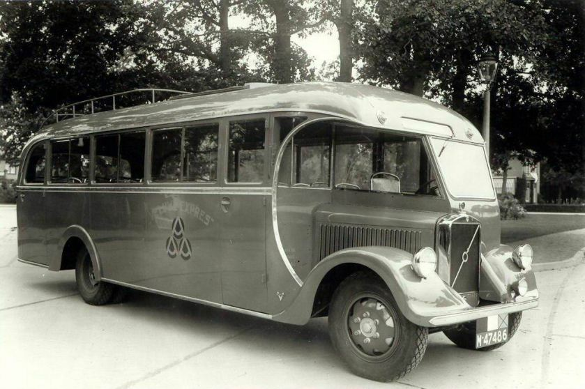 1935 Volvo(GB) + Verheulbus van de Veluwe-Expres van de gebroeders Robart