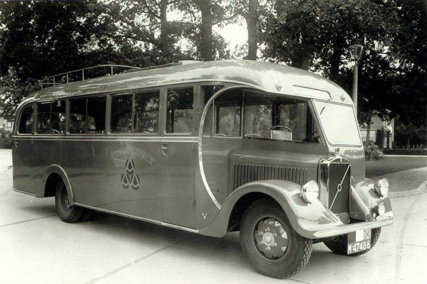 1935 Volvo(GB) + Verheulbus van de Veluwe-Expres van de gebroeders Robart1935