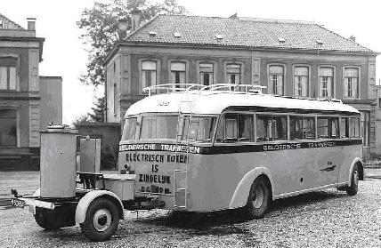 1936 Kromhout, Kromhout LW, carr. Verheul, GTM 109+houtgasgen dolly, M-50654 NB-96-07