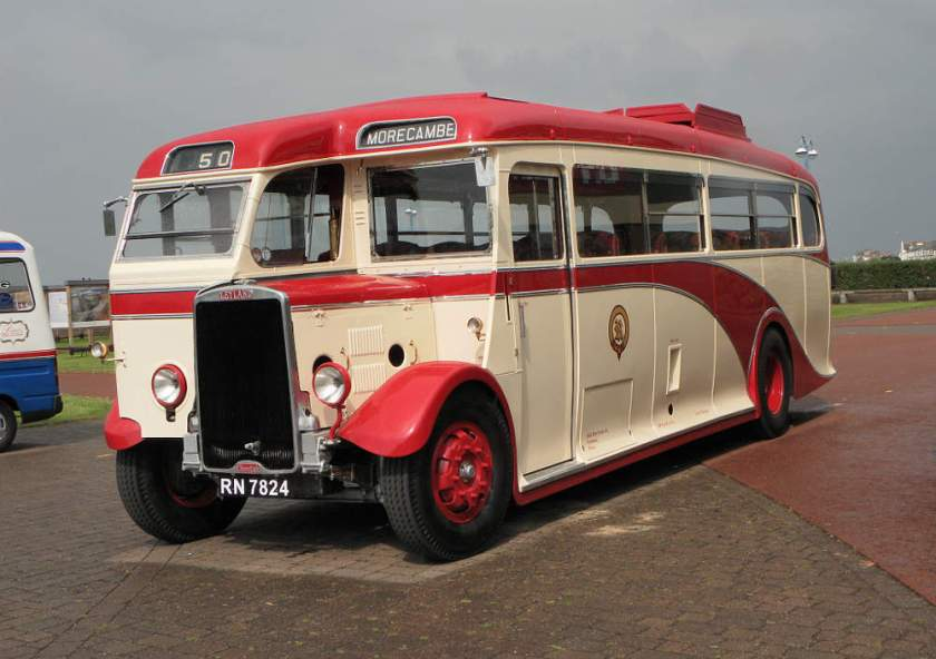 1936 Leyland Cheetah LZ2 with Brush C31F body