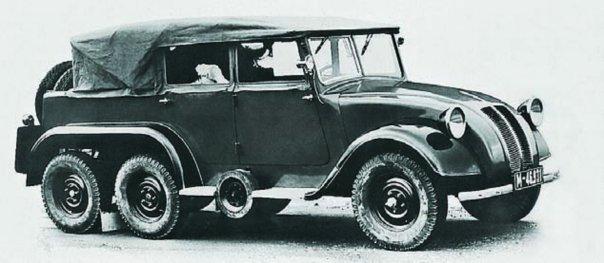 1936 Tatra-82, 6x6, Staff Car