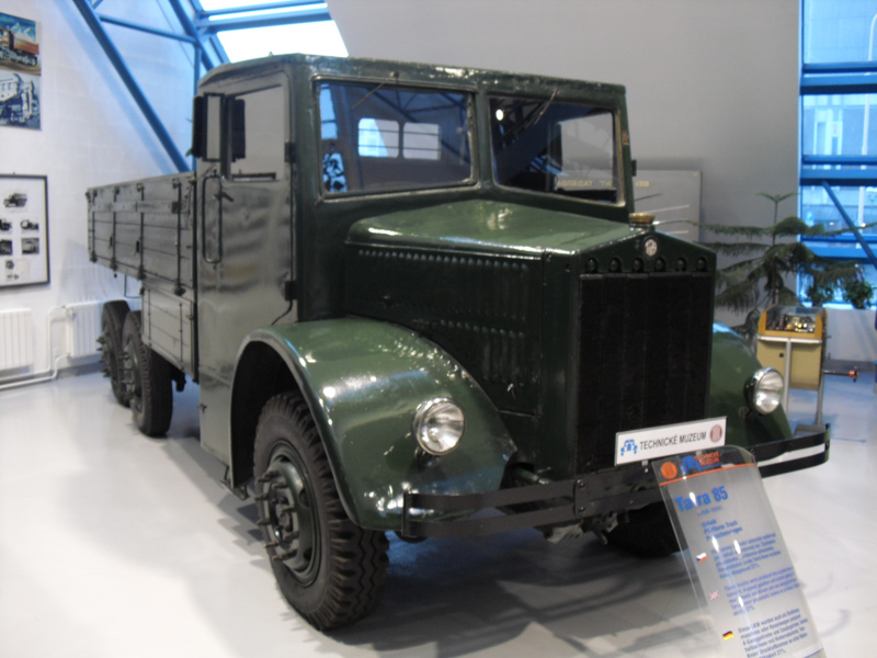 1936 Tatra 85, klimpercentage tot 27%