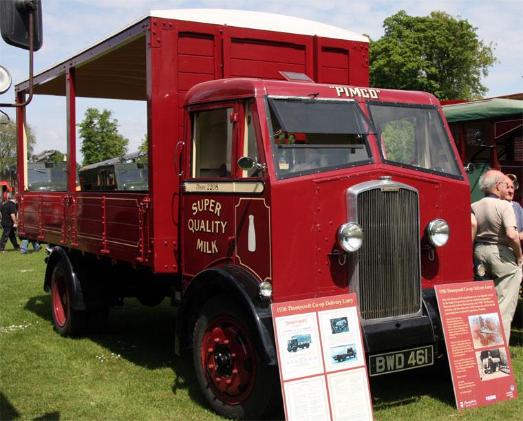 1936 Thornycroft Sturdy