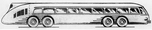 1936 VOMAG Kontinent Express (Reichsautobahnbus) concept