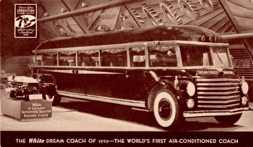 1936 White Dream Coach of 1950, Great Lakes Exposition
