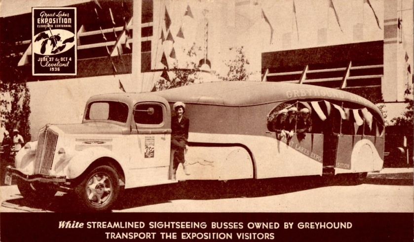 1936 White Sightseeing Bus, Great Lakes Exposition