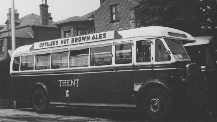 1937 AEC Regal with Willowbrook B35F body, rebodied by Willowbrook in 1950