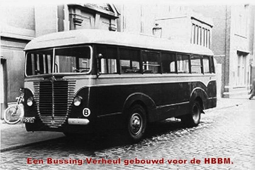 1937 Bussing Verheul HBBM