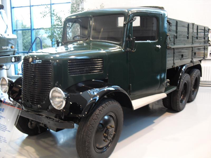 1937 Tatra 93, klimpercentage tot 55%