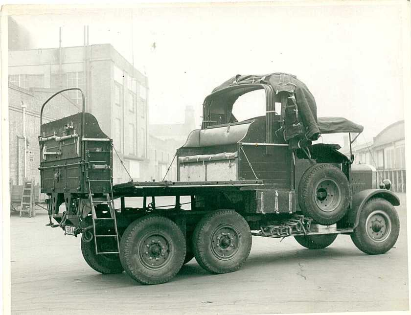 1937 Thornycroft military